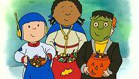 A caillou le encanta halloween
