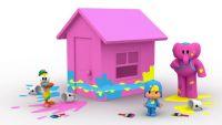 La casa de colores