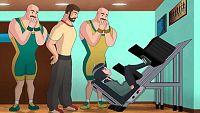 El caso del gimnasio calamitoso