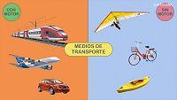 CIENCIAS NATURALES - Medios de transporte con motor y sin motor