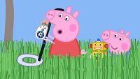 El detector de metales del Abuelo Pig