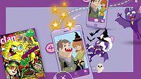 ¡Halloweenizate y gana premios con la app y la revista de Clan!