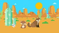 IDIOMAS - Over in The Desert
