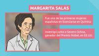 LENGUA - Margarita Salas y Alexander Fleming. Científicos