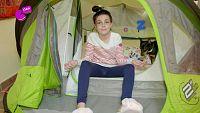 Lidia y su camping casero
