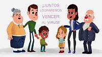 Lunnis contra el Virus: Martina y Marcos se quedan en casa
