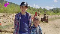 Mauro y Diego, dos pequeños agricultores en Ibiza