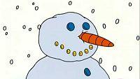 El muñeco de nieve de Caillou