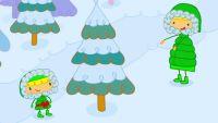 Mya Go y el árbol de navidad