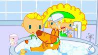 Mya Go y el baño de Doggy Go