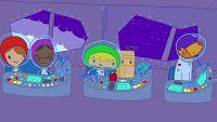 Mya Go y los exploradores del espacio