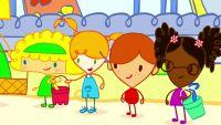 Mya Go va al parque infantil