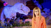 Naiara, en busca de los dinosaurios