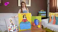 Natalia, una artista del pincel