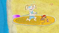 La pirata de los mares del surf