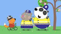 La policía