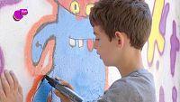 Raúl, un artista del grafitti
