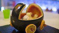 Receta Exprés - Bebé melón con gazpacho de sandía
