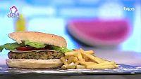 Receta Exprés - Gran hamburguesa vegetariana