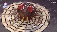 Receta Exprés - Tarántula de chocolate en su telaraña