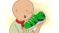 Los zapatos nuevos de Caillou