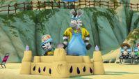 Zou y el concurso de castillos de arena