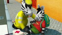 Zou y los primeros auxilios