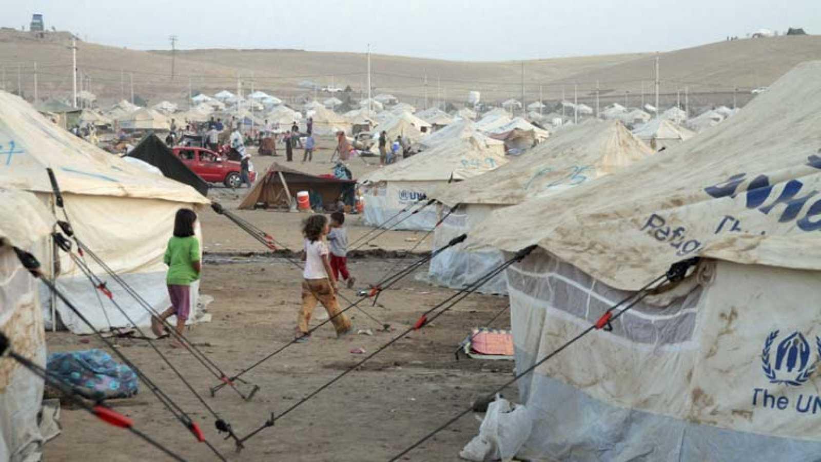 Ya hay un millón de niños sirios refugiados en campamentos fuera del país