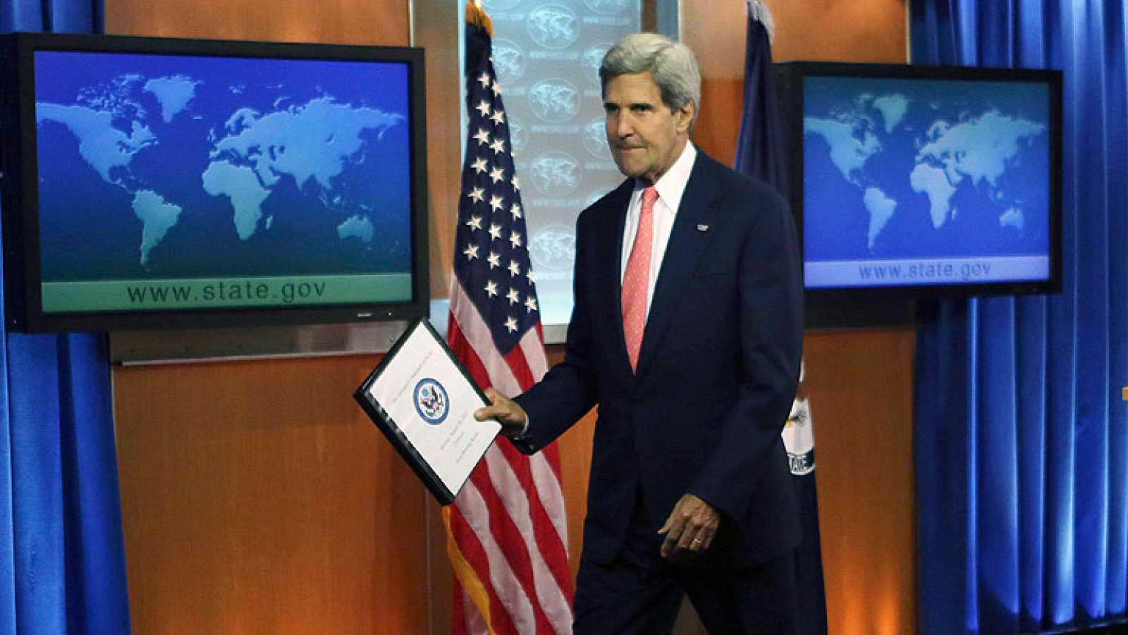 """Kerry dice que es """"innegable"""" que el régimen sirio ha usado armas químicas"""