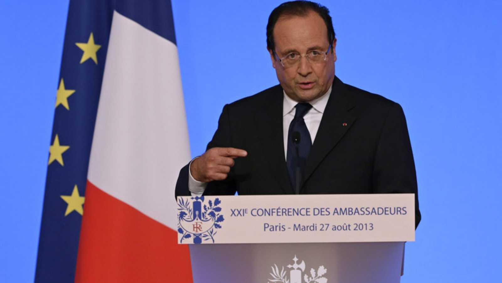 """EE.UU., Reino Unido y Francia están listos para """"castigar"""" al régimen sirio por el ataque químico"""
