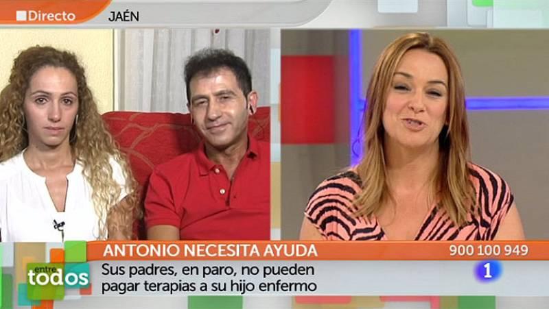 Entre Todos - Antonio consigue un año de terapias gracias a la solidaridad de los espectadores