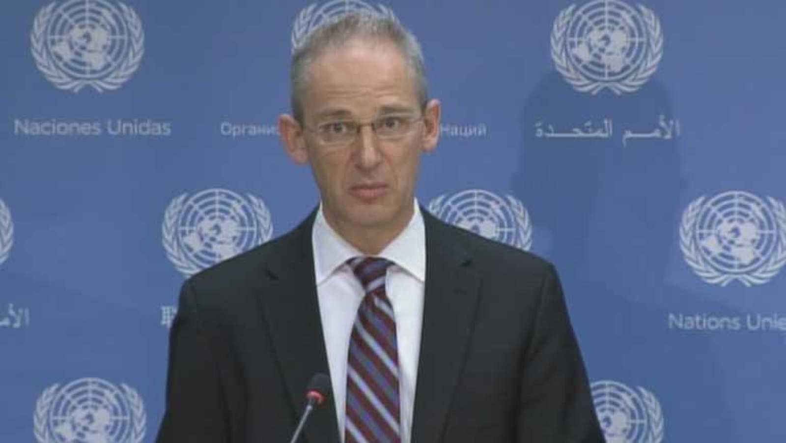 Las pruebas de los investigadores de la ONU ya están en La Haya