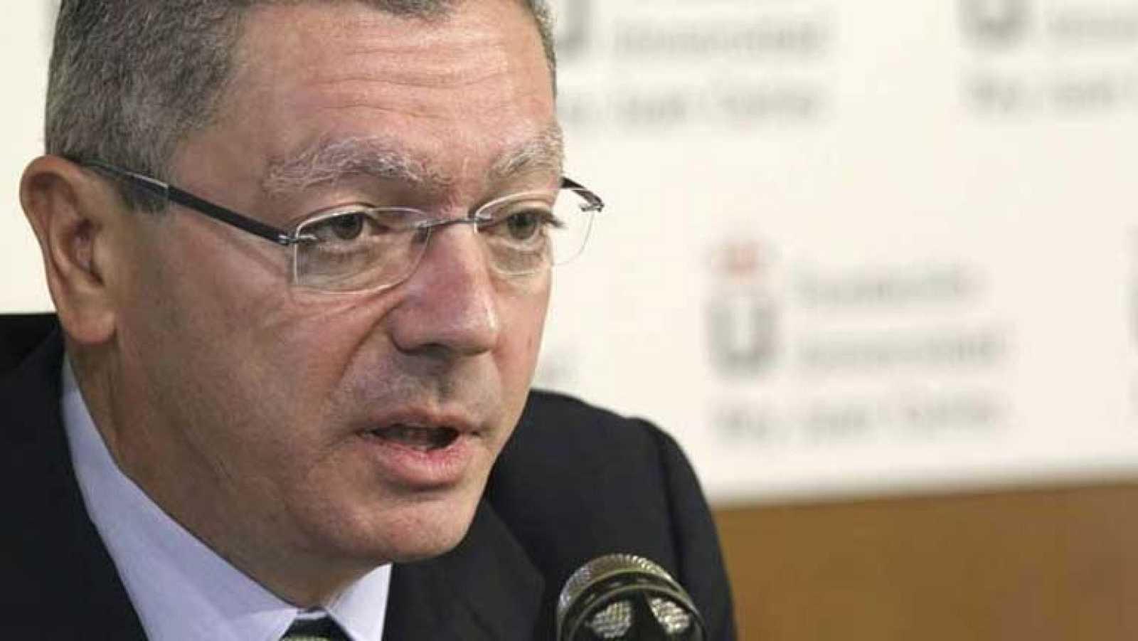 El ministro de Justicia anuncia que estará lista la nueva ley del aborto en octubre