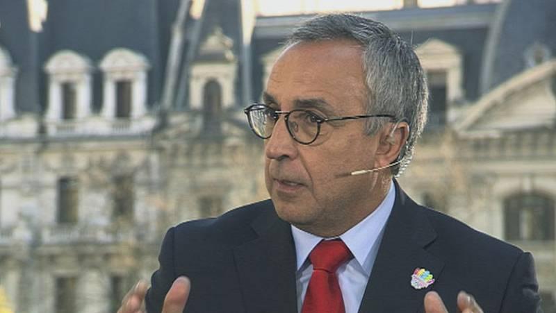 El presidente del COE y de la candidatura de Madrid 2020 ha declarado en exclusiva para TVE que el trabajo está bien hecho, y que ahora quedan por delante en Buenos Aires unas horas de vital importancia antes de la elección final de la sede olímpica.