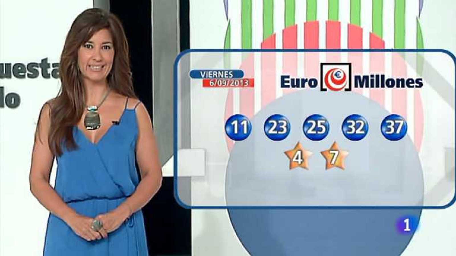 Bonoloto + Euromillones - 06/09/13 - Ver ahora