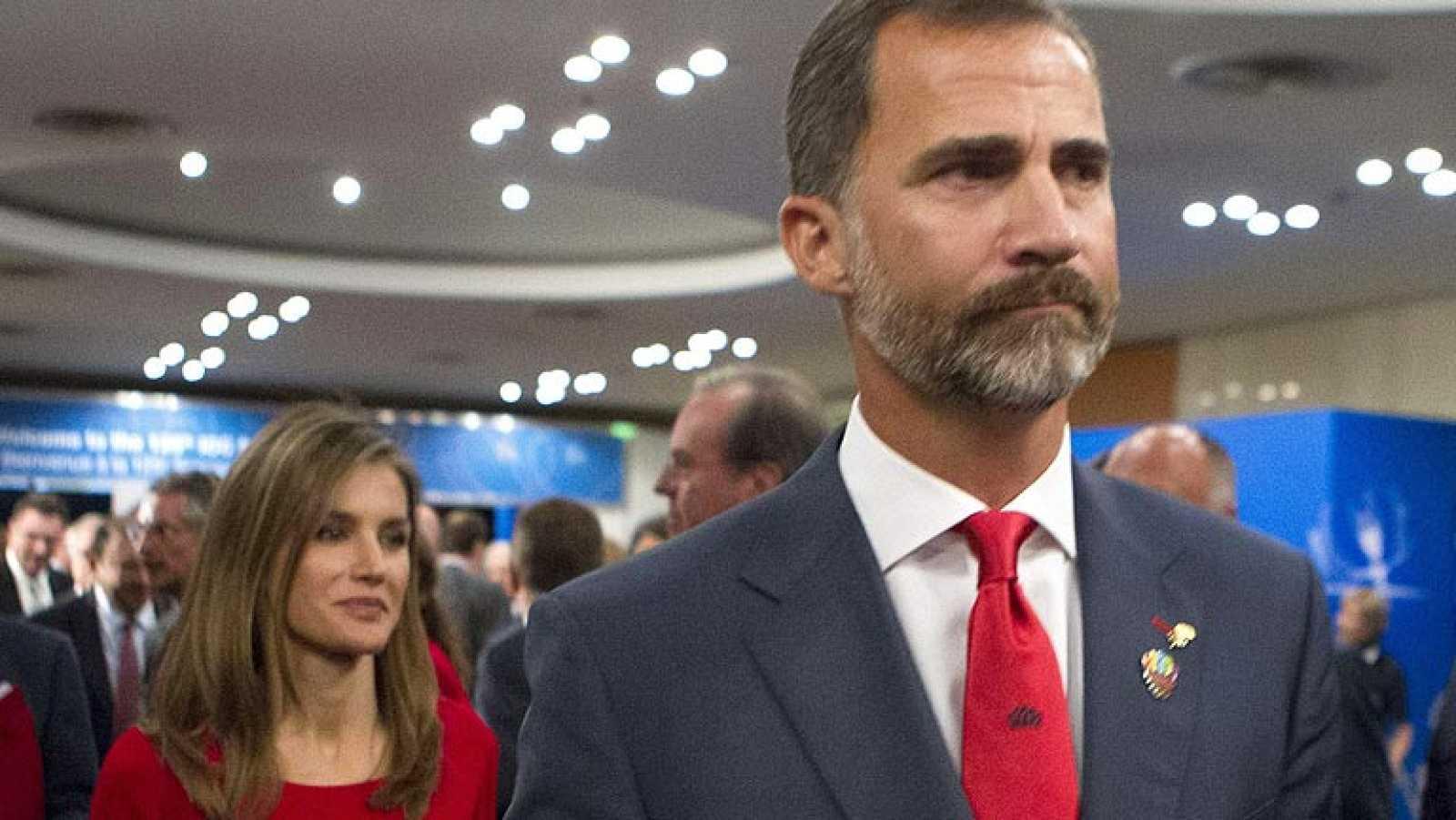 """El Príncipe Felipe ha señalado el """"magnífico trabajo"""" de la candidatura de Madrid 2020 y ha asegurado que la desliusión por no conseguir los Juegos """"sólo puede dar ánimo para levantarnos""""."""