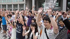 Alegría en Tokio por los Juegos de 2020