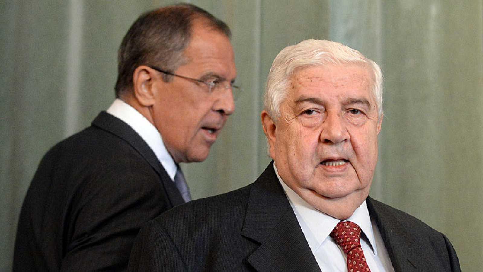 Siria cede a la presión de Rusia y abre la puerta a una posible entrega de las armas químicas