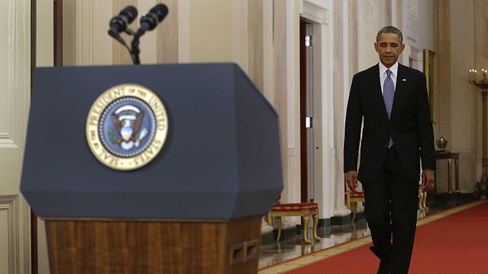 """Obama apela a la """"moral"""" de EE.UU. para actuar contra el régimen sirio"""