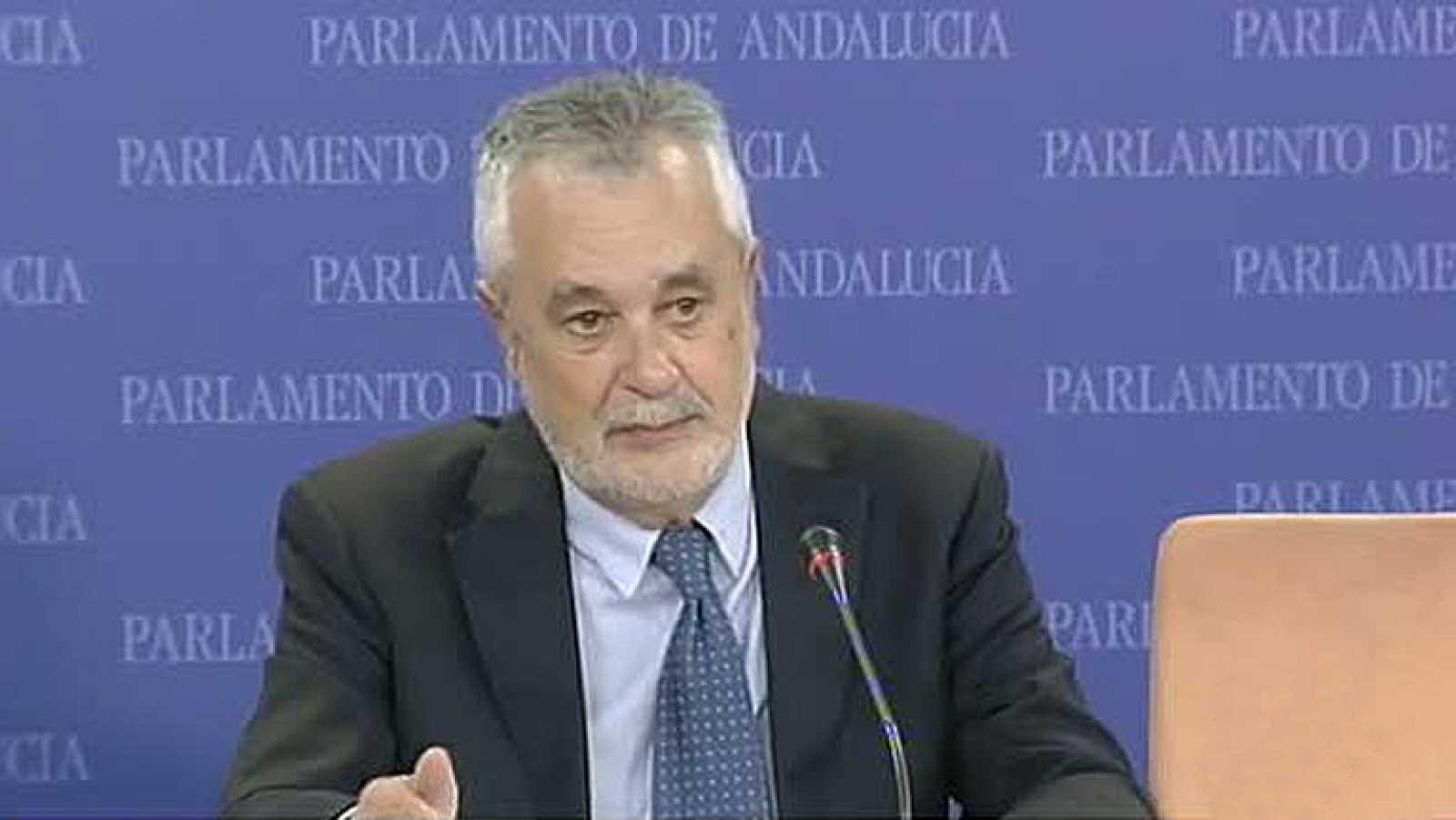 """Griñán critica que ahora exista la figura del """"señalado"""" e insiste en que no está imputado"""