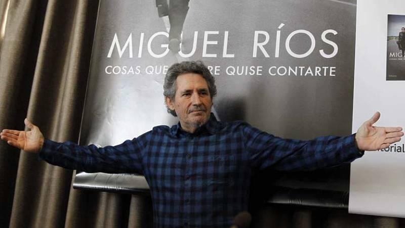Miguel Ríos presenta su primer libro
