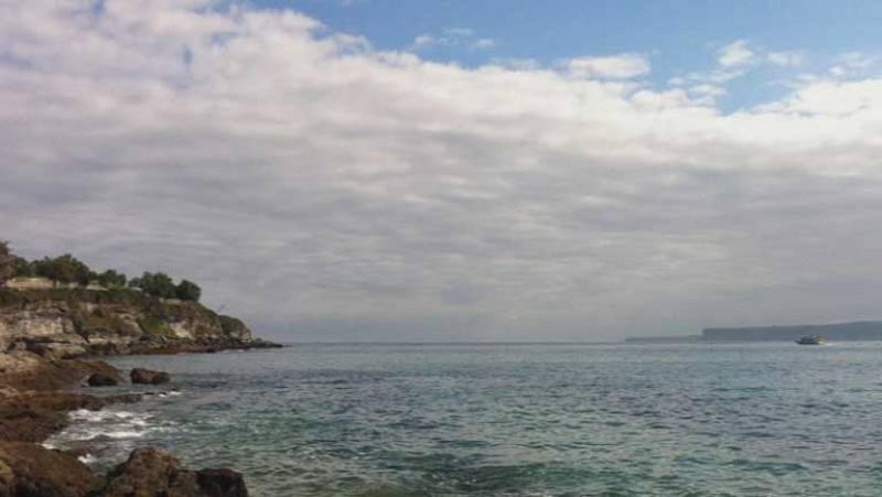Precipitaciones débiles en el País Vasco