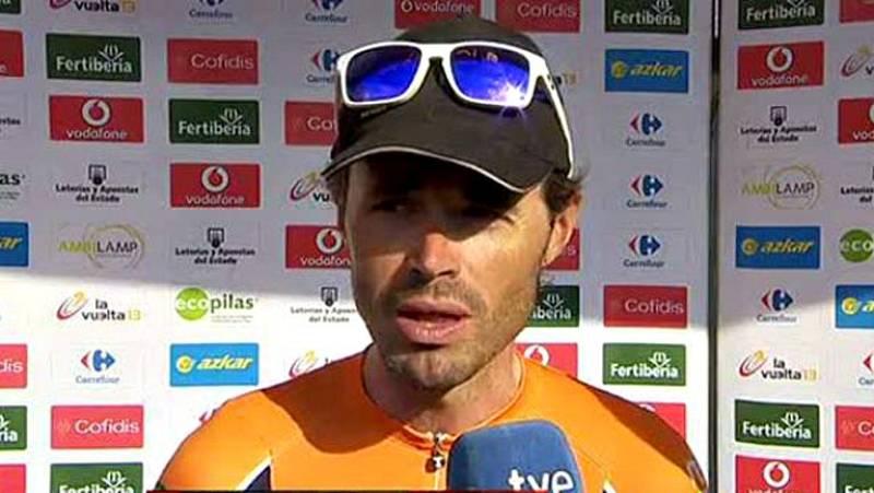 El ciclista asturiano ha vivido con pena la última etapa con el maillot del Euskaltel. Ahora toca pensar en el nuevo proyecto que llega de la mano de su amigo Fernando Alonso.