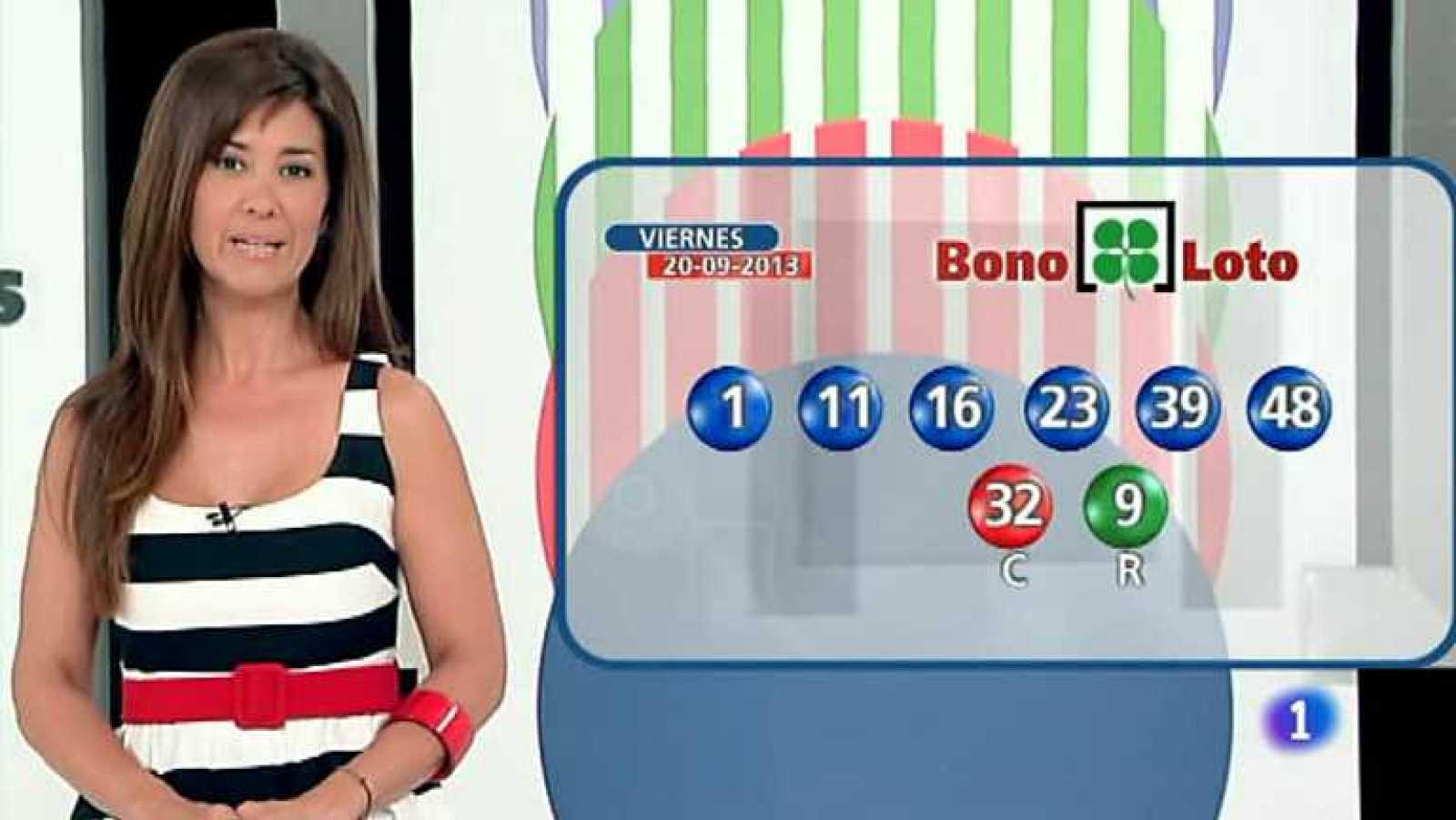 Bonoloto + Euromillones - 20/09/13 - Ver ahora