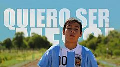 El documental  - Quiero ser Messi - Comienzo