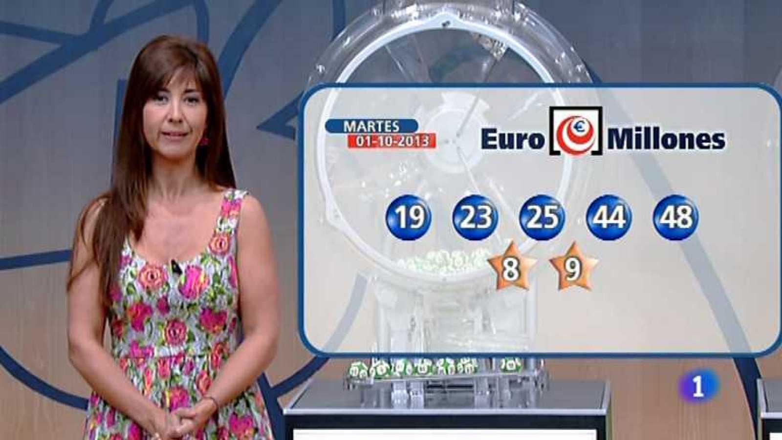 Bonoloto + Euromillones - 01/10/13 - Ver ahora