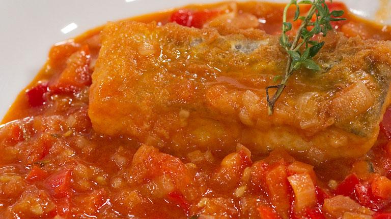 Como Cocinar Bacalao | Saber Cocinar Bacalao Rebozado Al Pimenton Con Chilindron Rtve Es