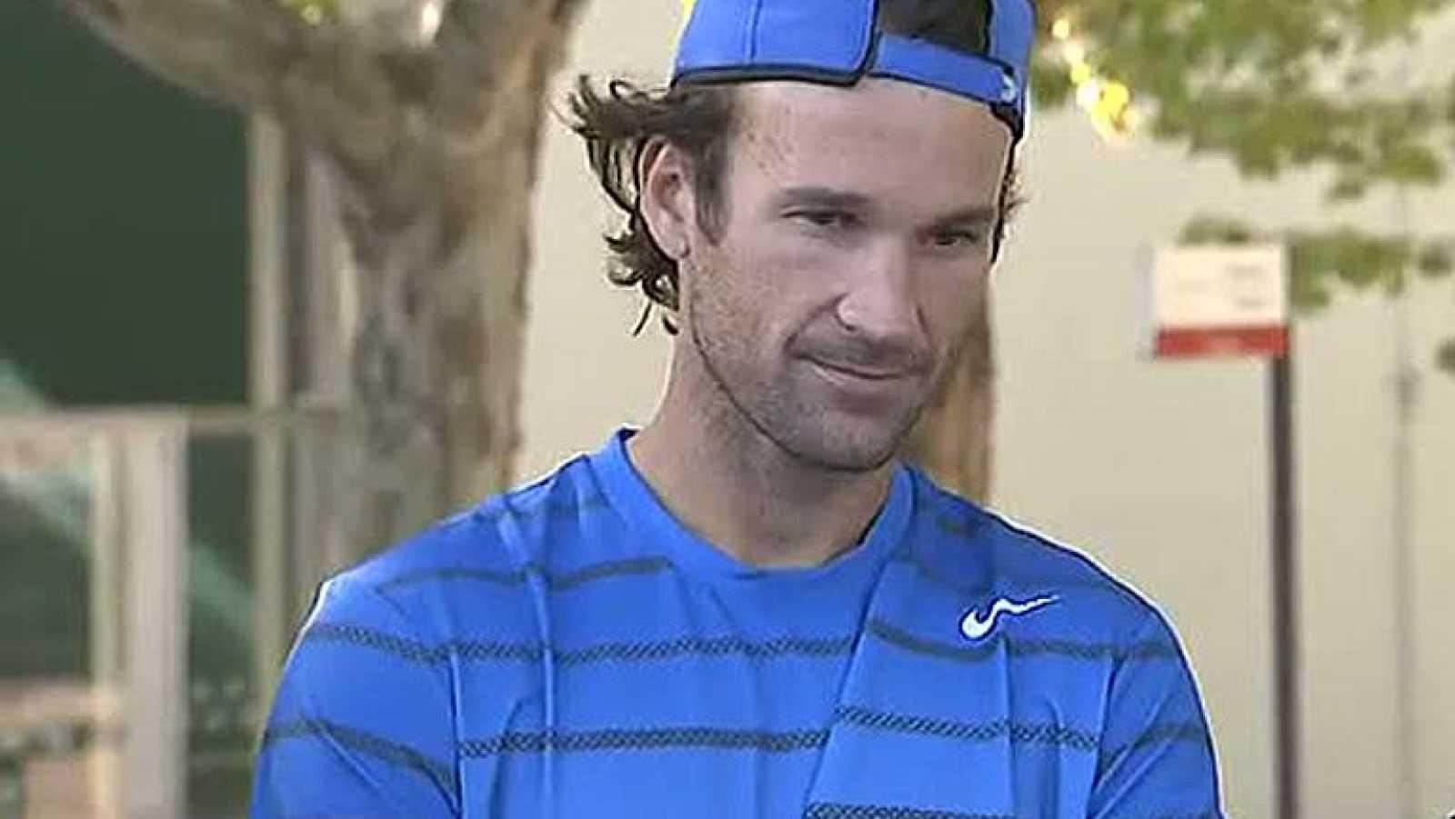 Carlos Moyá, al frente del equipo de Copa Davis