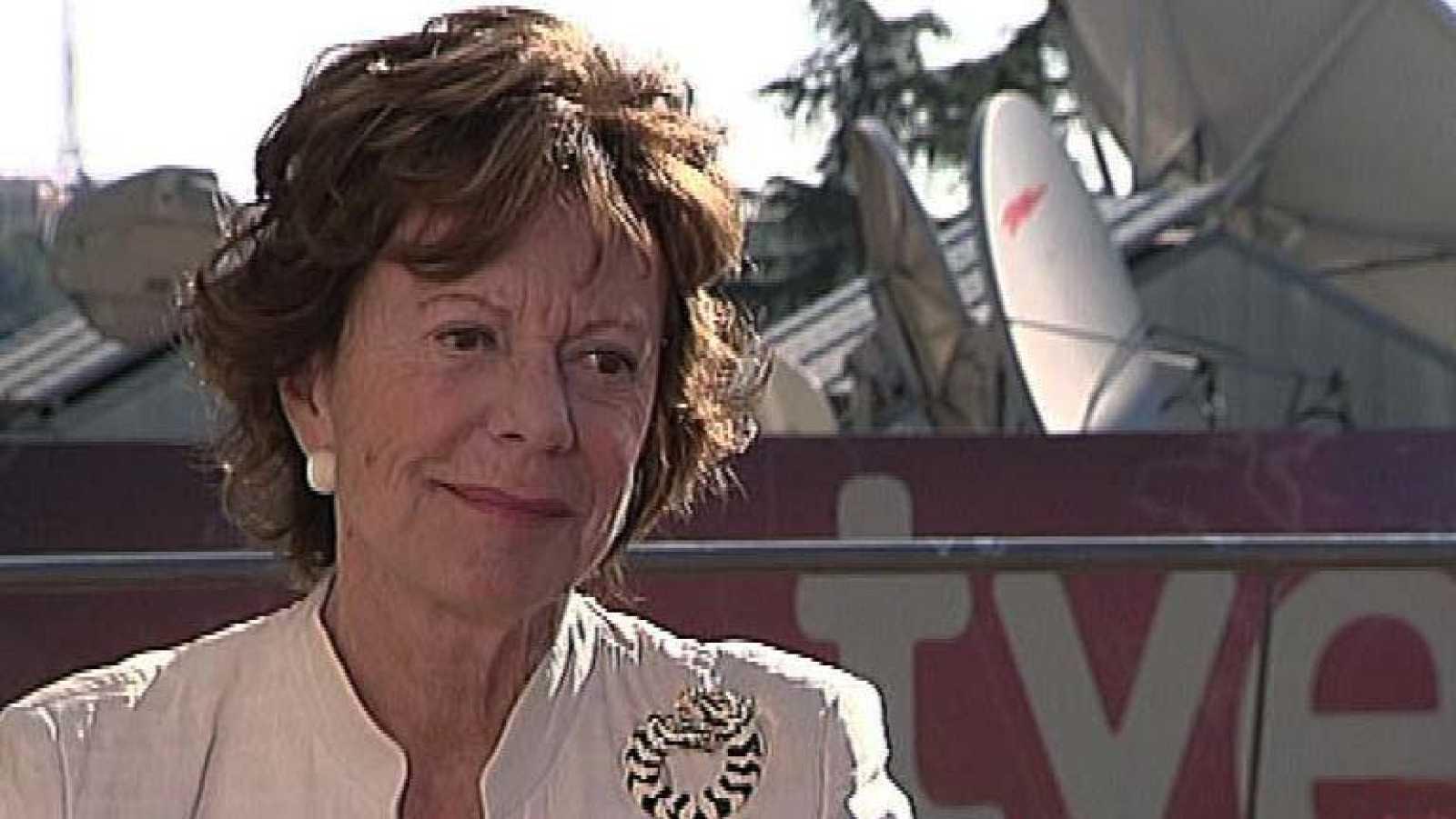 La tarde en 24h - Entrevista a Neelie Kroes