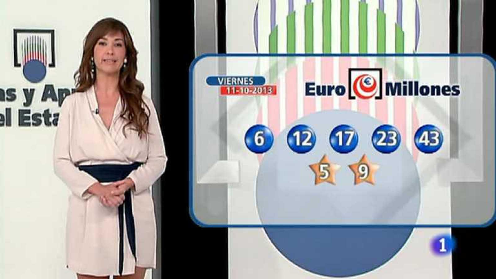 Bonoloto + Euromillones - 11/10/13- Ver ahora